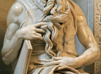 Detail of Moses