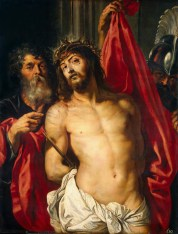 """Peter Paul Rubens, """"Christ with the Crown of Thorns"""" (1612)"""