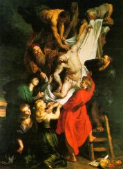 """Peter Paul Rubens, """"The Descent from the Cross"""" (1612-1614)"""