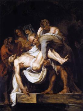 "Peter Paul Rubens, ""The Entombment"" (1612-14)"