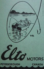 Elto Motors ran this beautiful ad in the 1952 phone book.