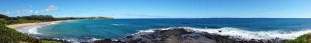 Kauai scenic panorama