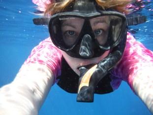 Snorkeling selfie