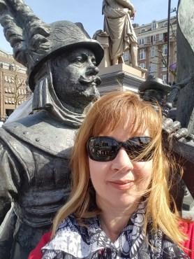 Rembrandtplein Rembrandt Square Amsterdam Night Watch