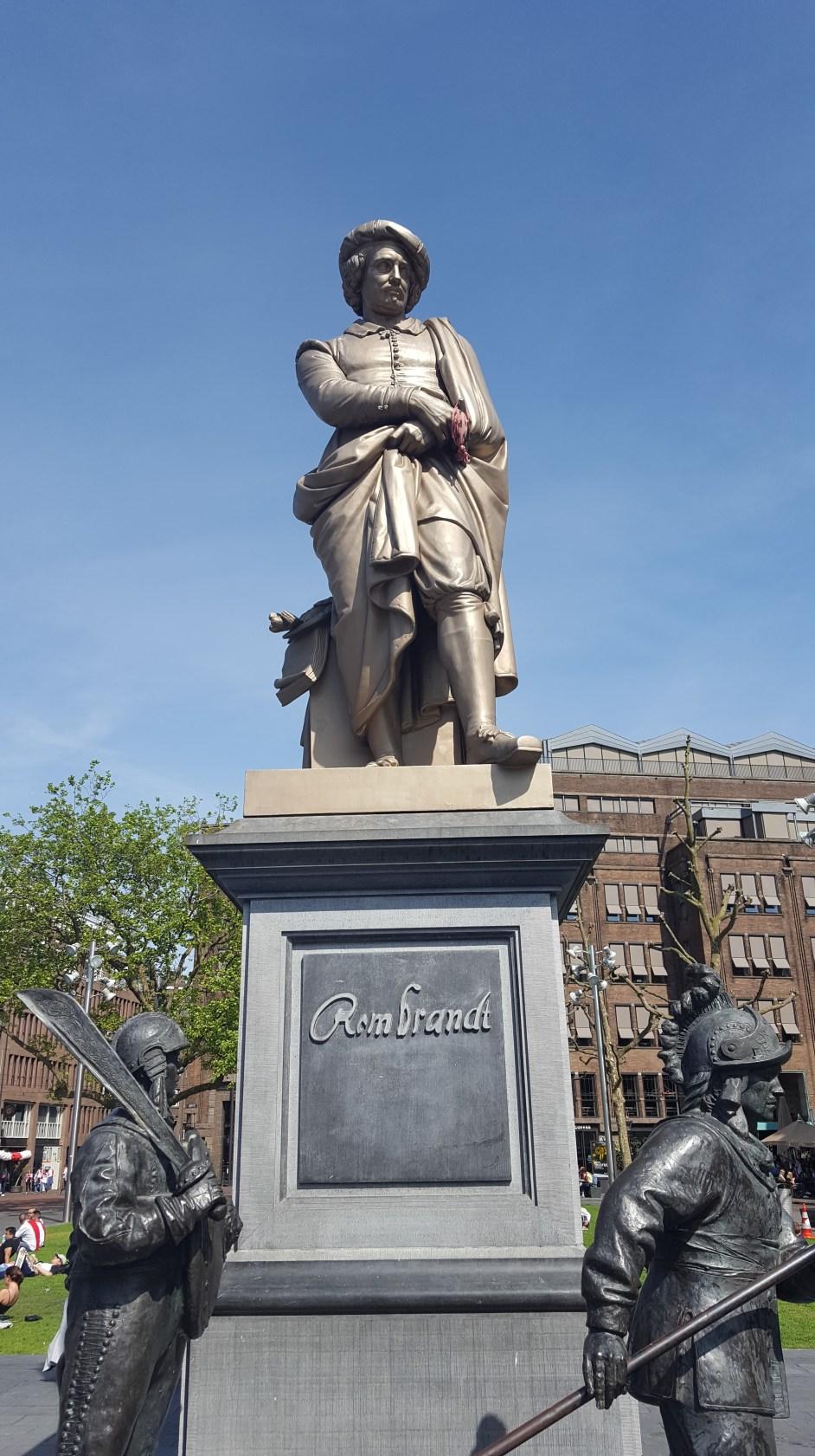Rembrandtplein Rembrandt Square Amsterdam