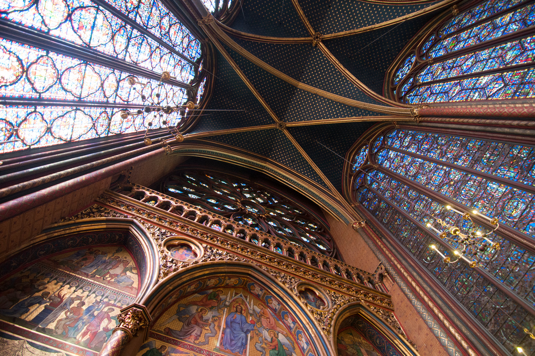 Wendy Ng Photography: Architecture &emdash; Rear of Sainte-Chapelle