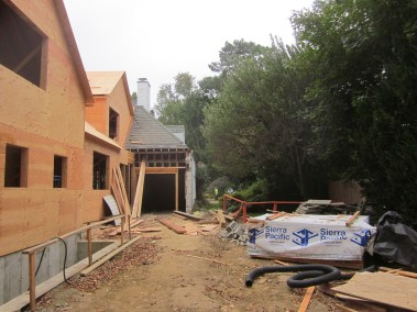 New home under construction in Scarsdale, NY