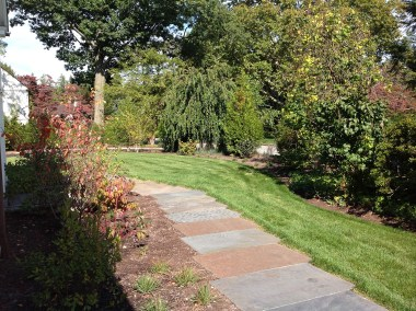 bluestone walkway in Scarsdale, NY