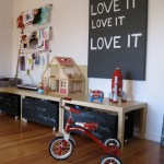 Beautiful Toy Storage Design Idea Small Living Kids Toy