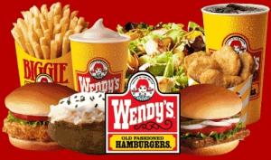 Resultado de imagen para wendy's menu