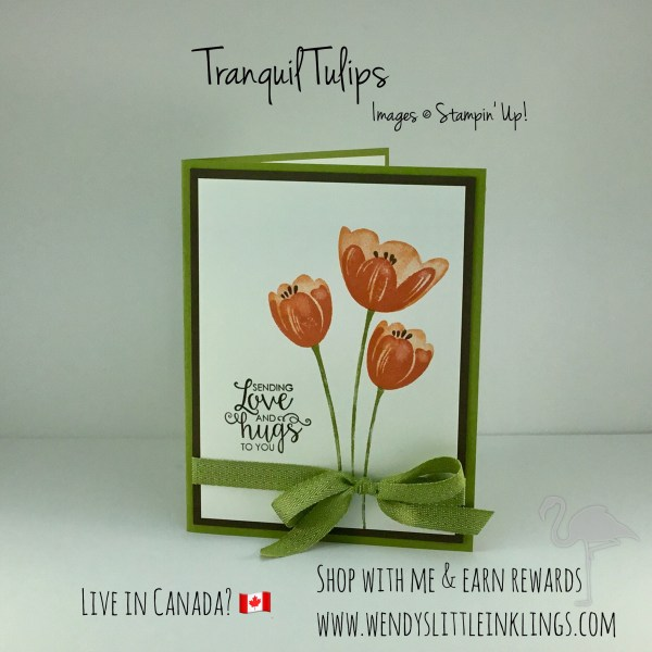 Wendy's Little Inklings: Tranquil Tulips
