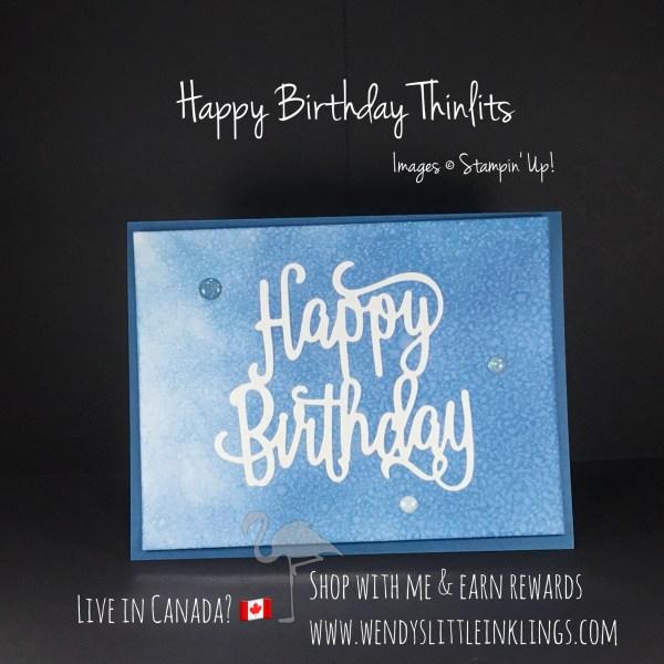 Wendy's Little Inklings: Happy Birthday Thinlits