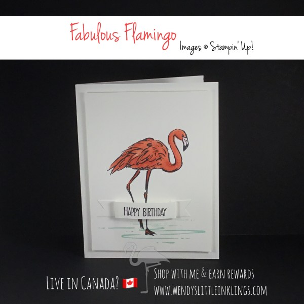Wendy's Little Inklings: Fabulous Flamingo Friday with the Blends
