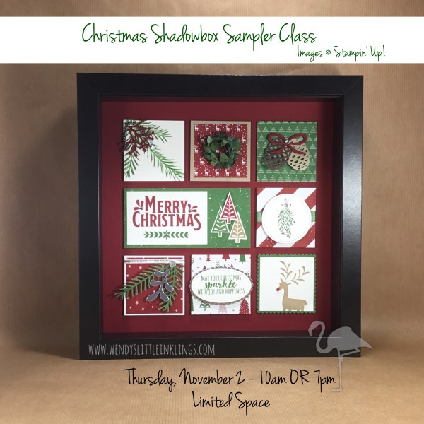 Wendy's Little Inklings: Christmas Shadowbox Sampler