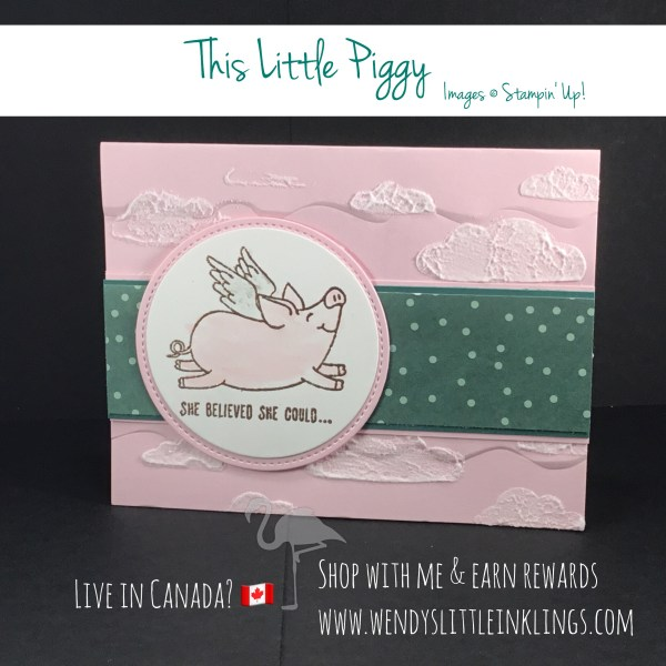 Wendy's Little Inklings: This Little Piggy... believed that she could!