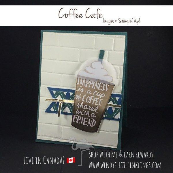 Wendy's Little Inklings: Coffee Cafe with a Friend