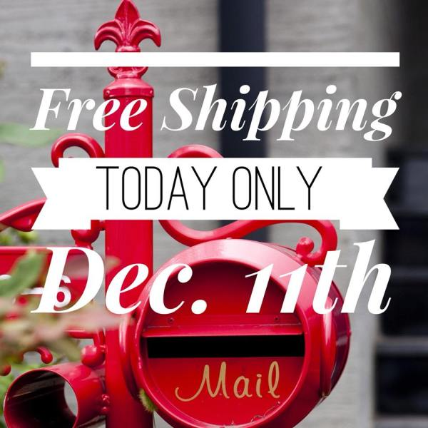 Wendy's Little Inklings: Free Shipping Today