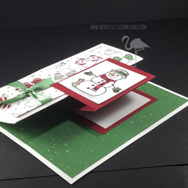 Wendy's Little Inklings: Seasonal Chums Z-Fold Card