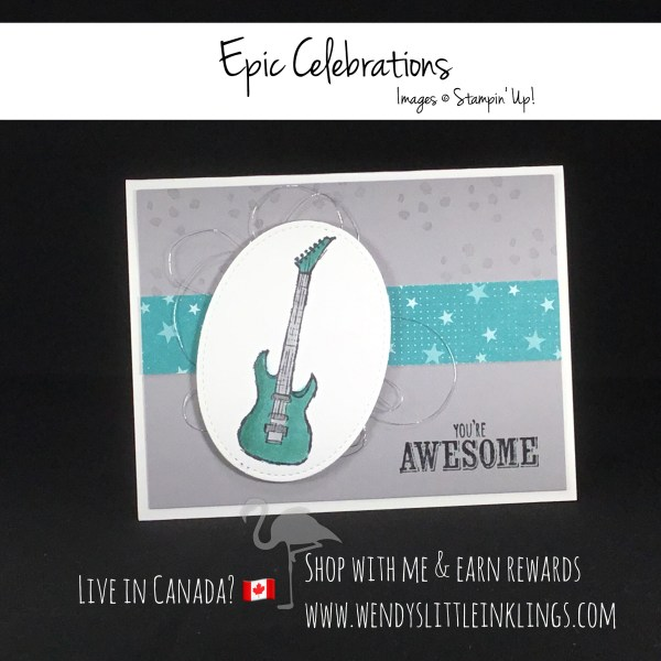 Wendy's Little Inklings: Stampin' Up! Epic Celebrations