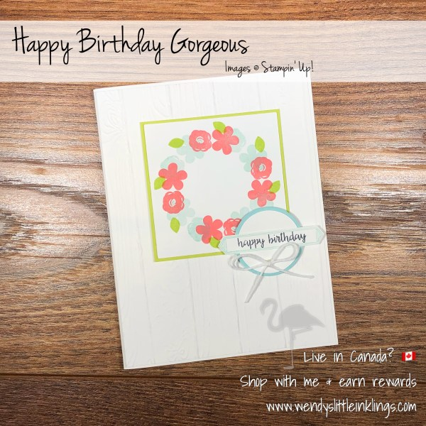 Happy Birthday Gorgeous Stamp Set And The Stamparatus