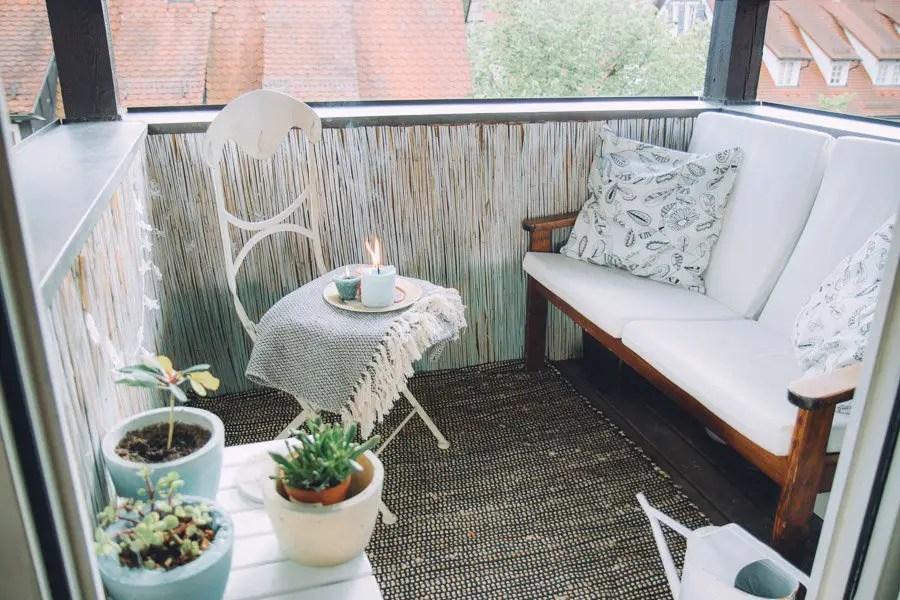 Balkonmöbel Rattan Kleiner Balkon Balkonmoebel Homify