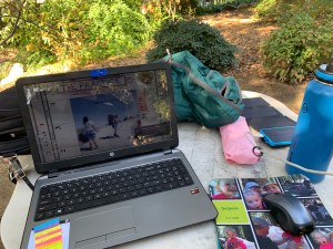 Huntington Library Outdoor Office