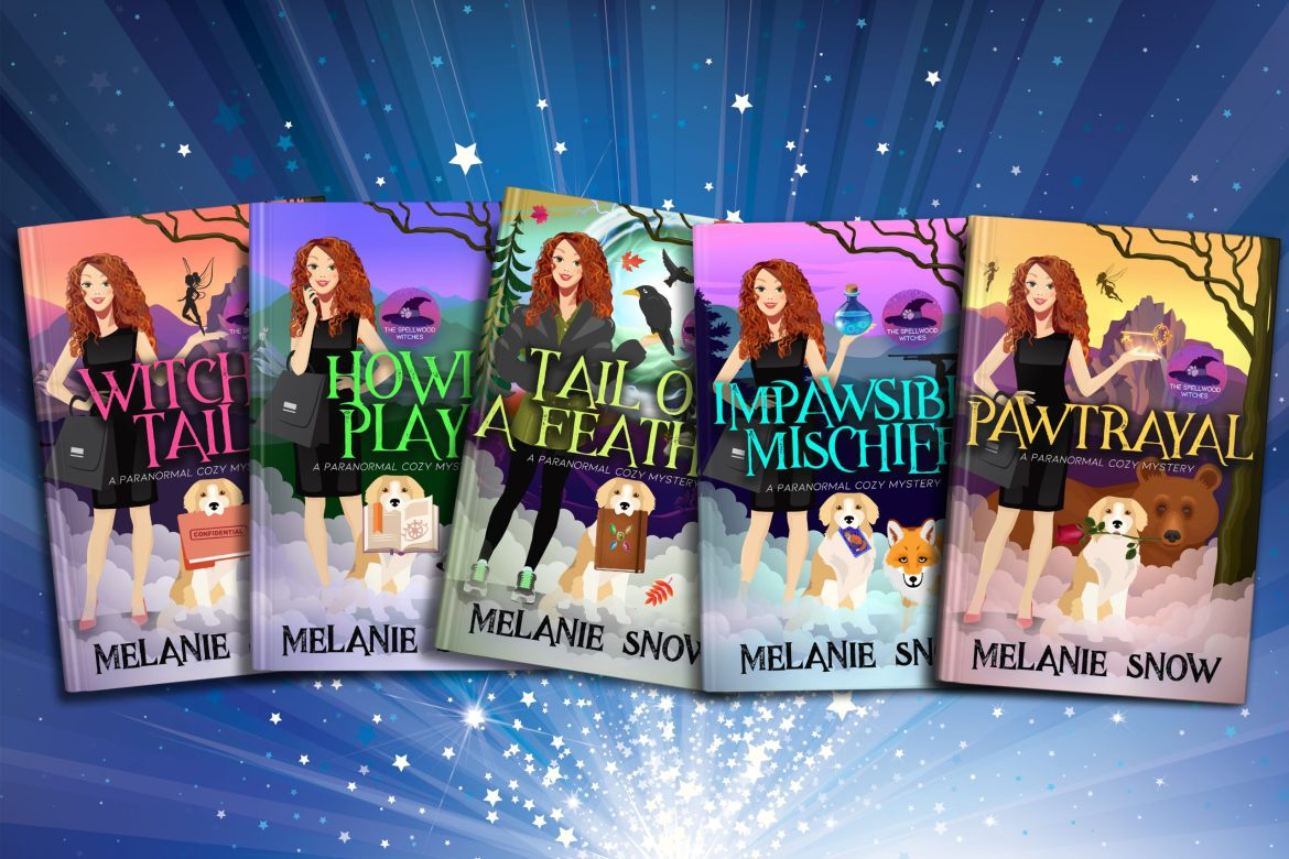 The Spellwood Witches, A Paranormal Cozy Mystery Series by Melanie Snow