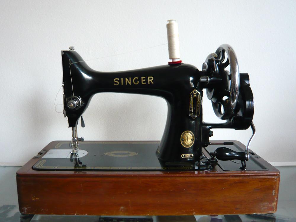 antique singer sewing machine  Wendy Ward