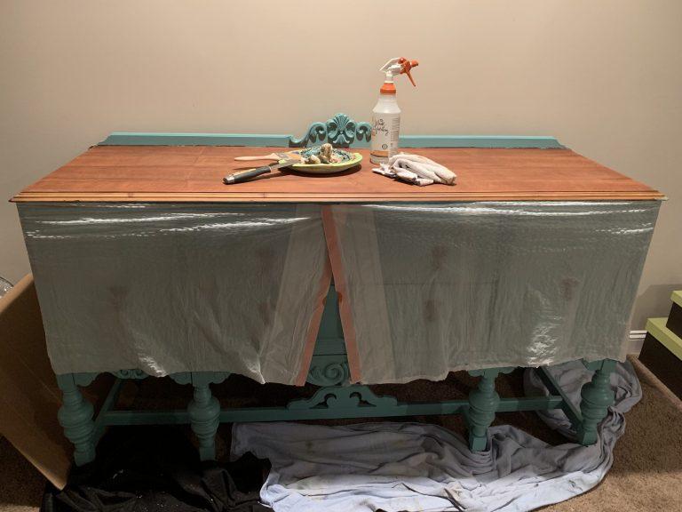 Stripped sideboard buffet