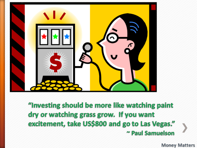 Investing should be more like watching paint