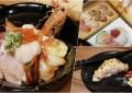 魚多甜輔大店|輔大美食 握壽司一份40元 海鮮丼飯 平價日本料理(菜單價錢)