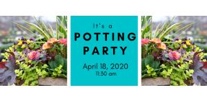 Spring Potting Party 4/18/20 @ 11:30 am @ Wenke Greenhouse Retail Store | Kalamazoo | MI | US