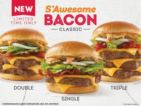 Sawesome Bacon classic trio