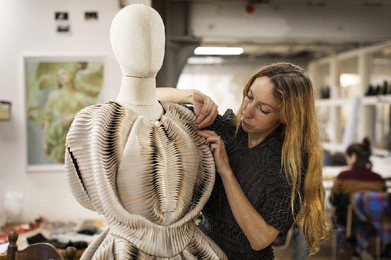 Iris van Herpen at work