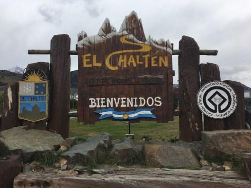 Willkommen in El Chalten.