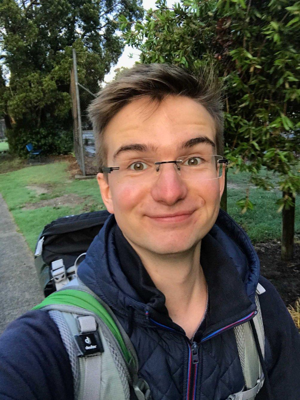 Alex Schreiner, Abflug nach Sydney