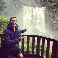 Wasserfall Neuseeland Ausblick