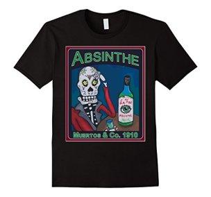 Los Muertos Absinthe Vintage Amazon Black