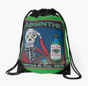 Drawstring bag - $30