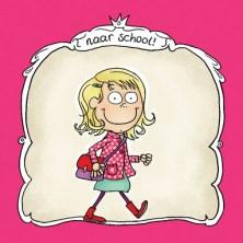 Kaartje eerste schooldag (1)