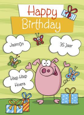 Verjaardagskaart Online
