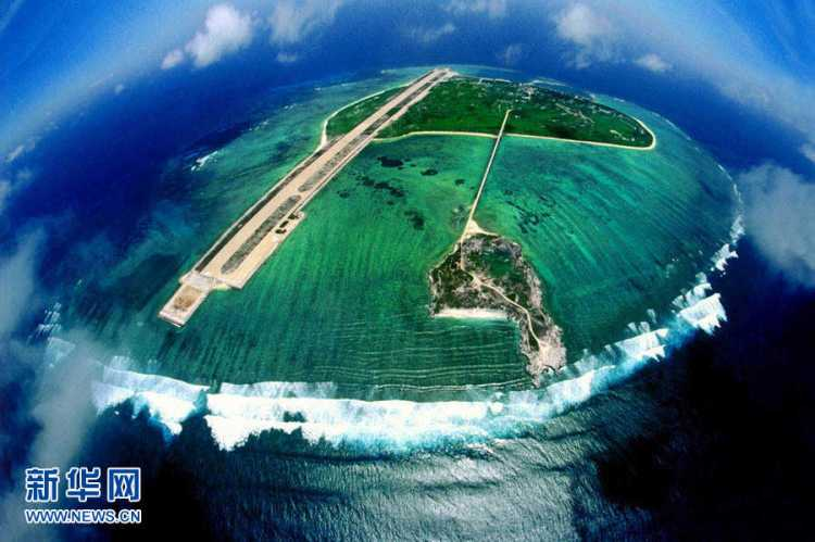 Chinese base in South China Sea