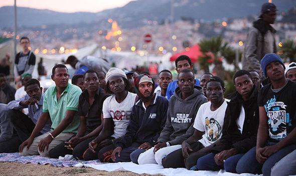 Refugees in Milan
