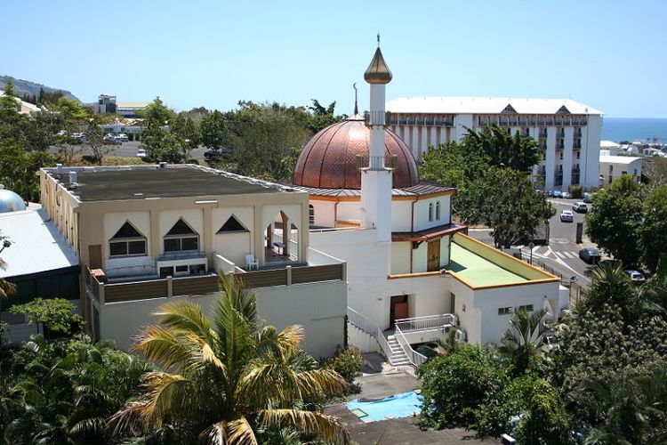 Mosque with Minaret in France