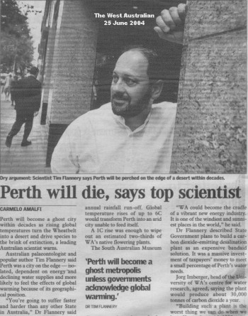 Flannery - Perth will become a ghost city