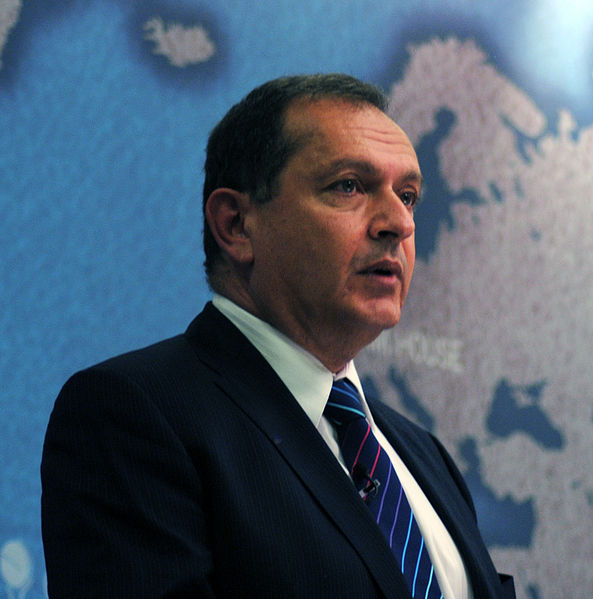 Ambassador Simon Collis, British Ambassador to Iraq, 2013