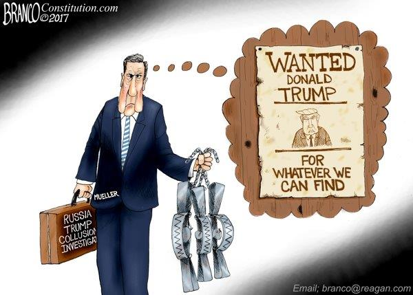The Great Trump Witchhunt Muellers empire  The