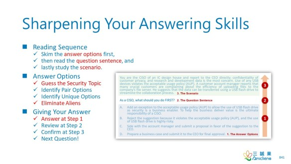 Sharpening Your Answering Skills