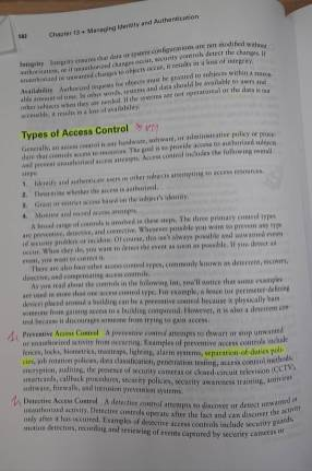 Types of Access Controls