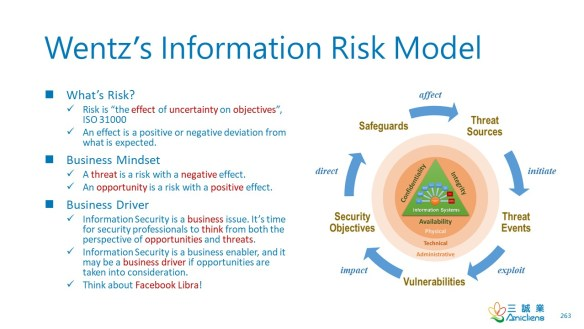 Wentz's Information Risk Model